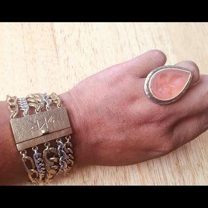 Silpada Bracelet & Ring Set